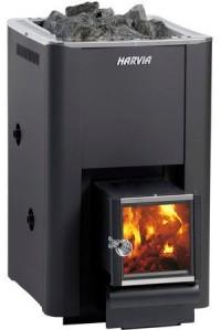 Дровяная печь для бани Harvia 20 SL Boiler (24 кВт)