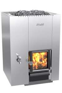 Дровяная печь для бани Harvia 22 LS Steel (26 кВт)