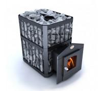 Печь-каменка Новаслав Пруток ПКС-04П со стеклом С2 (26 кВт)