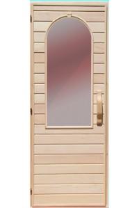 Дверь  для бани Липа Арка Украина 70х190 (203156)