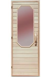 Дверь  для бани Липа Диамант Украина 70х190 (203159)