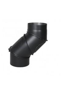 Колено Uni для дымохода ∅130 мм Darco