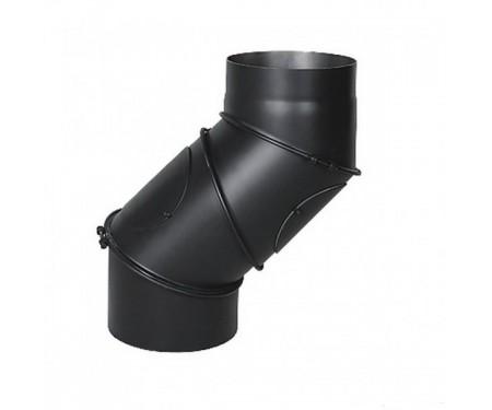 Колено Uni для дымохода ∅200 мм Darco