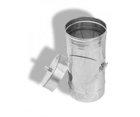 Ревизия для дымохода из нерж. стали толщ. 0,8мм