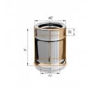 Труба дымоходная нерж/оцинк L-0,25м