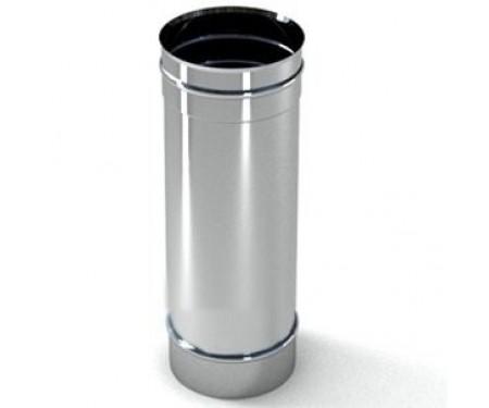 Труба дымоходная из нержавеющей стали L=0,3м толщ. 0,8мм