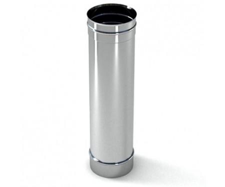 Труба дымоходная из нержавеющей стали L=0,5м толщ. 1мм