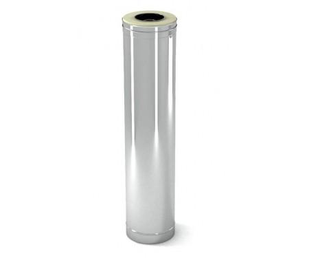 Труба дымоходная нерж/нерж L-1 м