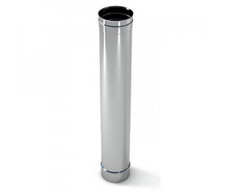 Труба дымоходная из нержавеющей стали L=1,0м толщ. 1мм