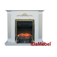 Каминокомплект Royal Flame Fobos FX M + IDaMebel Dominica Gold