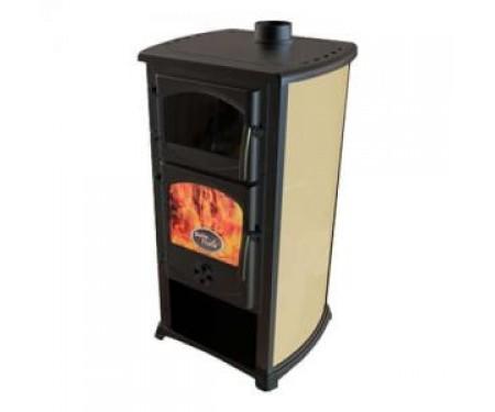 Печь-камин Bella Thalia Cucina бежевый с духовкой ( 12 кВт )
