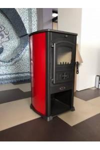 Печь на дровах BLIST Žar красная ( 8 кВт )
