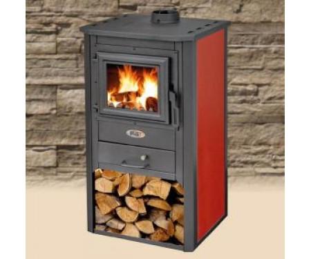 Печь на дровах BLIST Oganj красная ( 9 кВт )