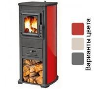 Печь на дровах BLIST Ekonomik Lux красная ( 7 кВт )