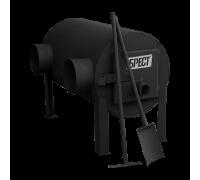 Дровяная отопительная печь Экожар Брест 203 с горизонтальным выходом теплого воздуха