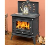 Печь-камин Eurokom Gustav с нагревательной плитой (13 кВт)