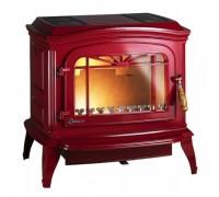 Печь Invicta Bradford 12 кВт краснаяэмаль (ref. 6173-47)