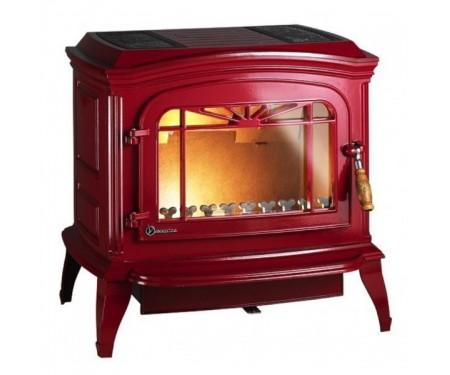 Печь Invicta Bradford (12 кВт) краснаяэмаль