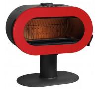 Печь Invicta Fifty 10 кВт краснаяэмаль (ref. 6480-47)
