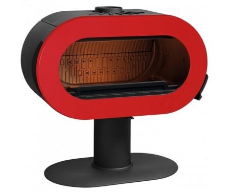 Печь Invicta Fifty (10 кВт) краснаяэмаль