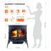 Чугунная печь KAWMET Premium S8 (13,9 kW)