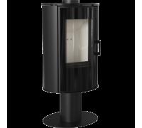 Стальная печь Kratki Koza AB S/N DR Glass (8 кВт)