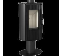 Стальная печь Kratki Koza AB S/N/O/DR Glass (8 кВт)