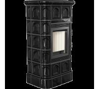 Кафельная печь Kratki Blanka 8 C черная (8 кВт)