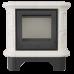 Кафельная печь Kratki WK 440 кремовая