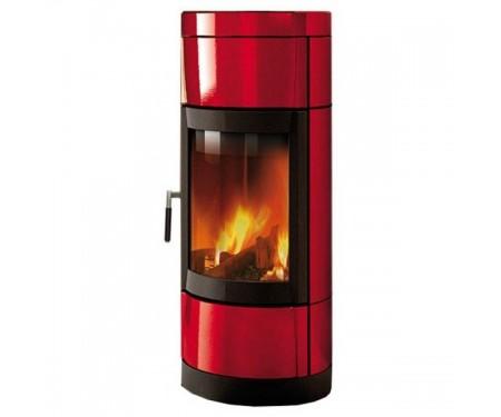 Печь-камин Nordica Fortuna Bifacciale (8 кВт) красная