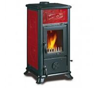 Печь-камин Nordica Dorella L8 X (6,8 кВт) красная