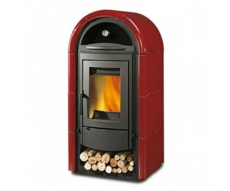 Печь Nordica Stefany (9 кВт) красная