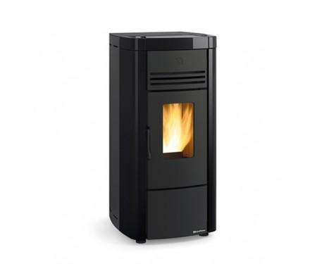 Пеллетная печь с системой вентиляции Nordica ANGELA EVO black