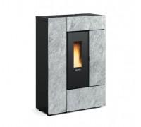 Герметичная пеллетная печь Nordica GABRIELLA PLUS stone (8 кВт)