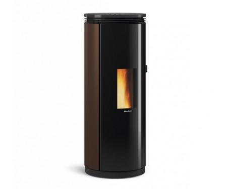 Пеллетная печь с системой вентиляции Nordica PAMELA bronze