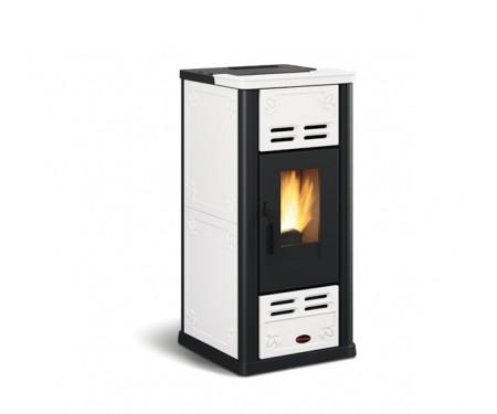 Пеллетная печь Nordica SERAFINA белая (7,1 кВт)