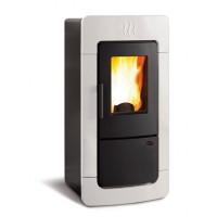 Пеллетная термопечь Nordica DIADEMA ACS IDRO white (28,4 кВт)