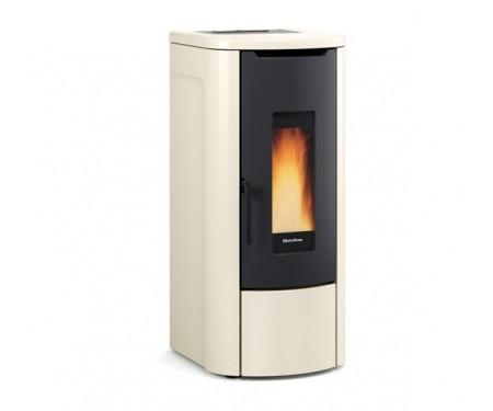 Пеллетная термо-печь герметичная и вентилируемая Nordica ROSANNA IDRO ivory  (14,2 кВт)