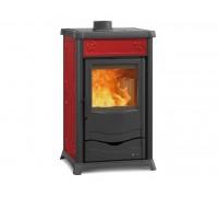 Отопительно-варочная печь Nordica Termo Rossella Plus Evo (13,5 кВт) красная