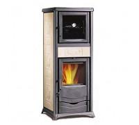 Отопительно-варочная печь Nordica Termo Rossella Plus Forno (13,5 кВт) бежевая
