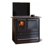 Отопительно-варочная печь Nordica Termo Sovrana D.S.A (13,5 кВт) черный