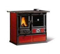 Отопительно-варочная печь Nordica Termo Rosa D.S.A (15,5 кВт) красная