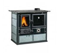 Отопительно-варочная печь Nordica Termo Rosa Ready D.S.A (15,6 кВт) серая