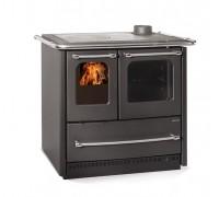 Дровяная плита Nordica SOVRANA EASY EVO 2.0 black (7,5 кВт)