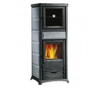 Отопительно-варочная печь Nordica Termo Rossella Plus Forno (13,5 кВт) серая