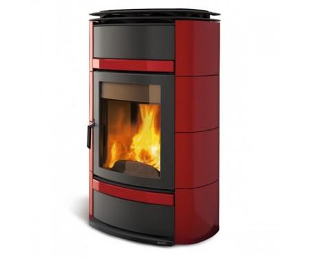Печь Nordica Norma S Evo Idro D.S.A. (19,5 кВт) красная