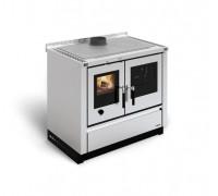 Встраиваемая дровяная  плита Nordica PADOVA сталь (8 кВт)