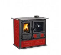 Дровяная печь-плита Nordica ROSA 4.0 - LIBERTY bordo (8,4 кВт)