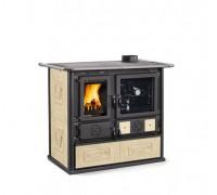 Дровяная печь-плита Nordica ROSA 4.0 - LIBERTY parchment (8,4 кВт)