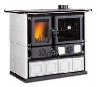 Дровяная печь-плита Nordica ROSA 4.0 - MAIOLICA white (8,4 кВт)